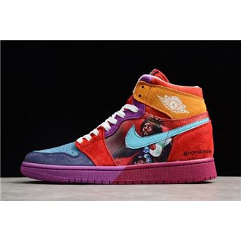 2018 Air Jordan 1 High Pirate Multi-Color 558059-101 For Sale