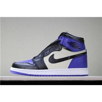 Air Jordan 1 Retro High OG Court Purple/Sail-Black 555088-501