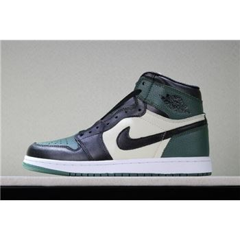 Air Jordan 1 Retro High OG Pine Green/Sail-Black 555088-302
