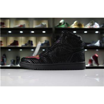 Cheap Air Jordan 1 LHM Pomb Los Primeros Black/Multi-Color-Black AH7739-001