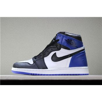 Fragment Design x Air Jordan 1 Retro High OG White/Sport Royal-Black 716371-040