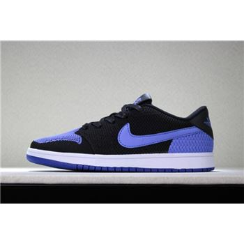 New adidas runners stockholm shoes outlet clearance Low Flyknit Royal Black/Game Royal-White Men's Basketball Shoes