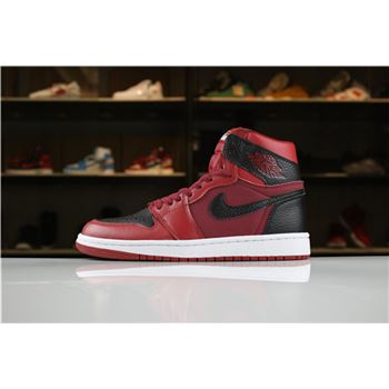 New Air Jordan 1 Mid Reverse Banned Men's Size For Sale