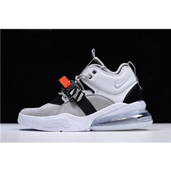 Mens Nike Air Force 270 Wolf Grey Dark Grey