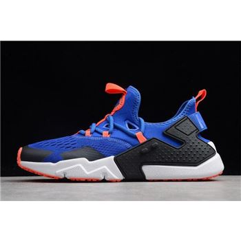 Mens Nike Air Huarache Drift BR Racer Blue Black White