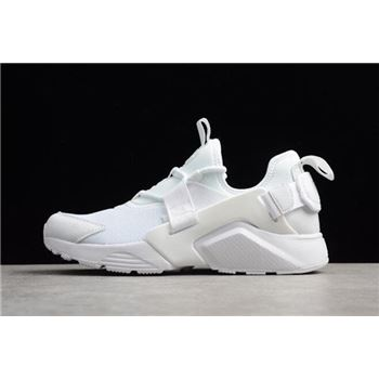 Mens and Womens Nike Air Huarache City Low White