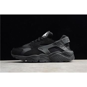 Mens and Womens Nike Air Huarache Run Triple Black