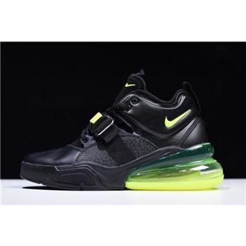 Nike Air Force 270 Black Fluorescent Green
