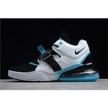Nike Air Force 270 Black White Hyper Jade