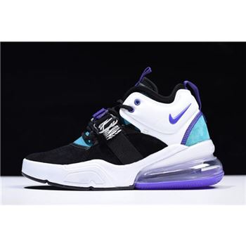 Nike Air Force 270 Carnivore Black Court Purple Dark Atomic Teal