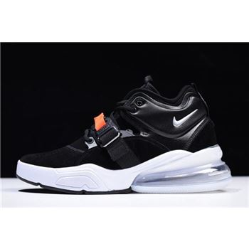 Nike Air Force 270 Metallic Black Metallic Silver White