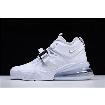 Nike Air Force 270 White Pure Platinum Mens Size