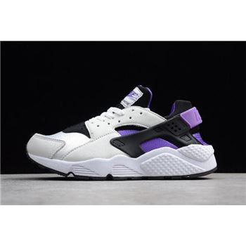 Nike Air Huarache 91 QS Black Purple Punch White