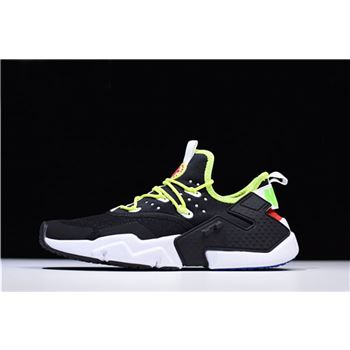 Nike Air Huarache Drift PRM Black Volt Mens Running Shoes