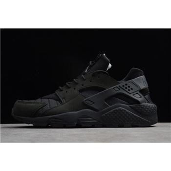 Nike Air Huarache Run City NYC Black White Black