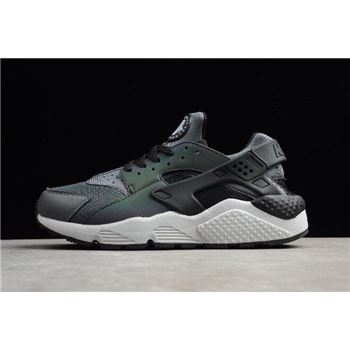 Nike Air Huarache Run Premium Dark Grey Black Mens Size