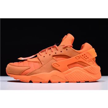 Nike Air Huarache Run QS Chicago Orange Blaze Midnight White