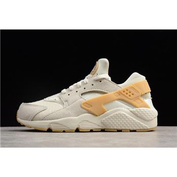 Nike Air Huarache Run SE Phantom/Gum Yellow-Light Bone 852628-004