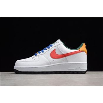 Ruba Abu-Nimah x Nike WMNS Air Force 1 Low Love White/Bright Crimson AR5432-167