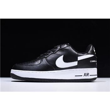 Supreme x Comme Des Garcons x Nike Air Force 1 Low Black White