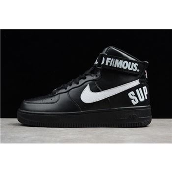 Supreme x Nike Air Force 1 High Black