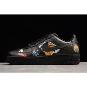 Supreme x Nike Air Force 1 Low NBA Black Mens and Womens Size