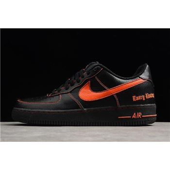 VLONE x Nike Air Force 1 Low Black Orange