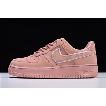 WMNS Nike Air Force 1 '07 LV8 Suede Red Stardust Dragon Red AA1117-601
