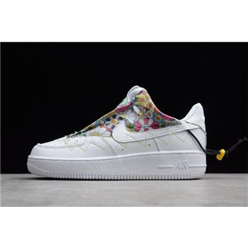 WMNS Nike Air Force 1 07 White Flower