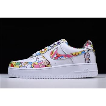 Womens Takashi Murakami x Nike Air Force 1 Low Doraemon