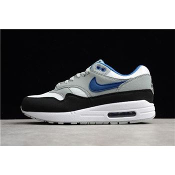 Mens Nike Air Max 1 Gym Blue White Gym Blue Light Pumice Black
