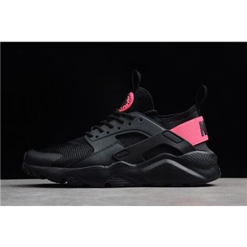 Nike Air Huarache Run Ultra Black Hyper Pink