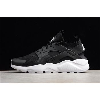 Nike Air Huarache Run Ultra Black White Running Shoes