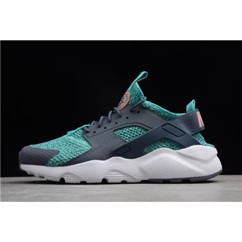 Nike Air Huarache Run Ultra Jade Blue Grey White