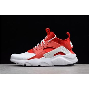 Nike Air Huarache Run Ultra White Red White