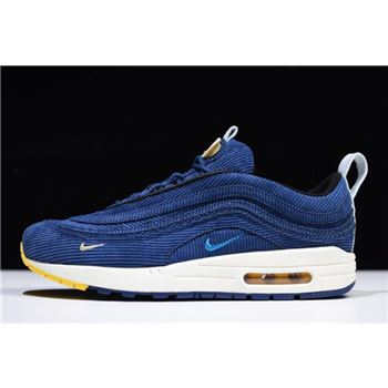 Nike Air Max 1/97 VF Sean Wotherspoon Royal Blue/White-Yellow AJ4219-141