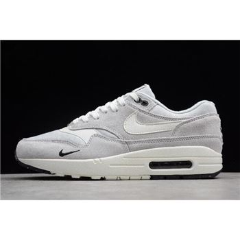 Nike Air Max 1 Mini Swoosh Pure Platinum Sail Black White