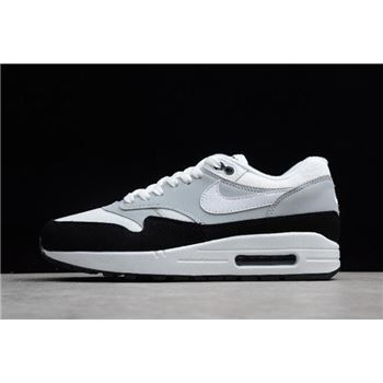 Nike Air Max 1 Wolf Grey/White-Black Men's Size AH8145-003