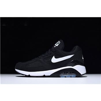 Nike Air Max 180 Black White Mens and Womens Size Trainers Running Shoes