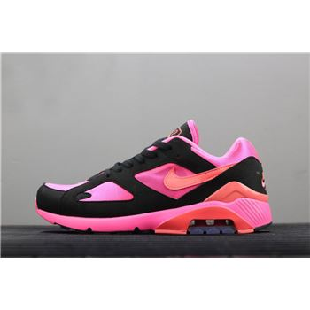 Nike Air Max 180 x Comme Des Garcons Laser Pink Solar Red Black
