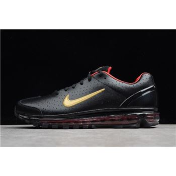 Nike Air Max 2003 SS Black Red Metallic Gold