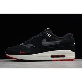 Nike Air Max Premium Bred Black Oil Grey University Red