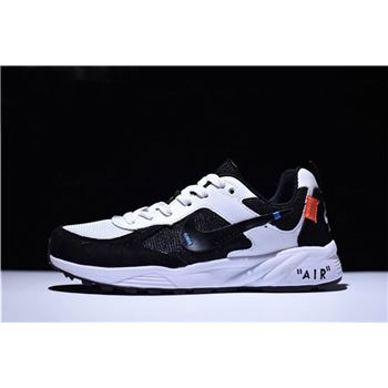 Off White x Nike Air Icarus Extra QS Trainers Black White