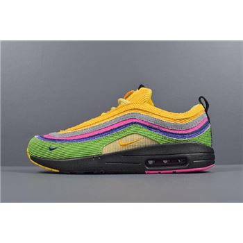 Sean Wotherspoon's nike zoom streak 6 marathon racer shoes for girls/97 VF SW Eclipse Custom AJ4219-407