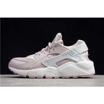 WMNS Nike Air Huarache Run Light Pink Grey White
