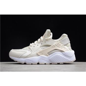WMNS Nike Air Huarache Run Phantom Light Iron Ore White