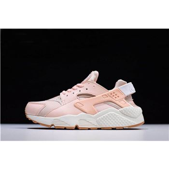 Womens Nike Air Huarache Run Sunset Tint White Gum Yellow