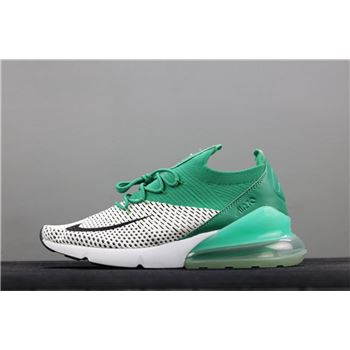 Mens Nike Air Max 270 Flyknit Clear Emerald