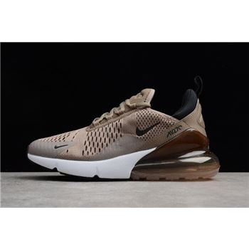8477ab77a9e6 Men s Nike Air Max 270 Tan Sepia Stone-Black-Summit White AH8050-200
