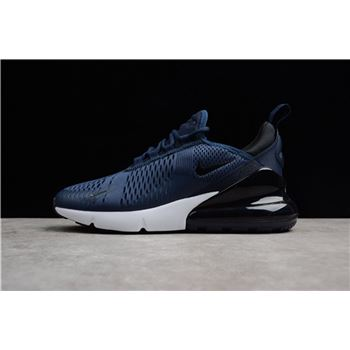 Mens Size Nike Air Max 270 Midnight Navy Black White